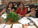 Literacy Coaches recording observations in their writer's notebooks