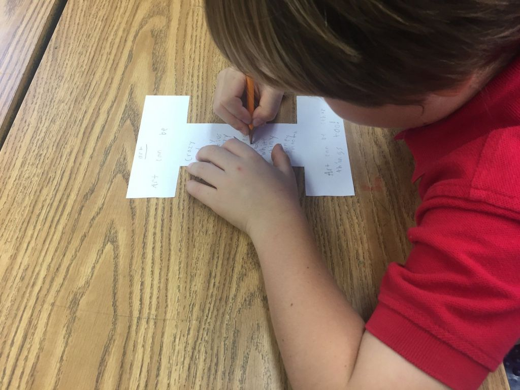 2nd Grader Explores Art and Poetry
